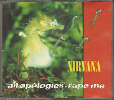 NIRVANA All Apologies CD SINGLE 3 track Rape Me Moist Vagina 1993 KURT COBAIN