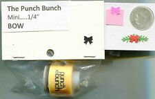 Mini Bow Shape Paper Punch by Punch Bunch Quilling-Scrapbooking-Cardmaking NIP