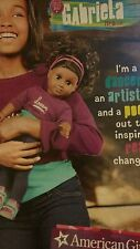 American Girl Doll Catalogue: Introducing GABRIELA McBRIDE Newest Issue BN 40pgs