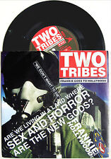 "FRANKIE GOES TO HOLLYWOOD 12"" Two Tribes 1994 UK 4 Trk. Fluke Teckno UNPLAYED"