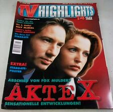 Tv Highlights 18/ 26.8.-8.9.2000 - komplett - mit Sammelkarten und Poster