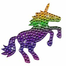 Sticker Bling Bling Gemz Crystal Rhinestone Rainbow Unicorn