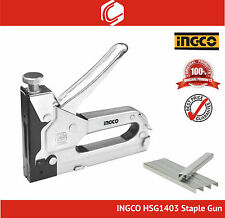 INGCO HSG1403 Staple Gun Size 4-14mm - Free 10mm staples 1000pcs
