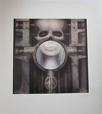H.R.Giger Brain Salad Surgery Plate Signed Lithograph Ltd. To 9800