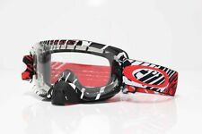 Oakley NEW 2016 O2 Mx Rushmore Red Clear Lens MTB Motocross Dirt Bike Goggles