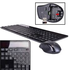 Logitech MK750 2.4GHz Wireless Solar-Powered Keyboard & Laser Mouse Kit