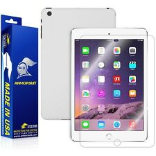 ArmorSuit MilitaryShield Apple iPad Mini 3 - Screen Protector + White Carbon
