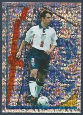 MERLIN-OFFICIAL ENGLAND 1998 WORLD CUP- #024-MANCHESTER UNITED-SILVER FOIL