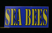 MADE IN US NAVY SEABEE USS DECAL BUMPER STICKER ZAP DECAL PIN USS FMF NMCB PORT