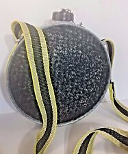 Vintage Oasis Canteen 2 Quart Wool With Strap