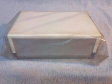 Verobox PLASTICA casella Progetto con alluminio fronte / retro. 180 x 63 x 120.