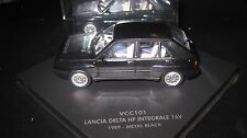 1/43 VITESSE  LANCIA DELTA HF INTERGRALE 16V BLACK  AWESOME LOOKING CAR #VCC101