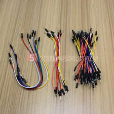 65Pcs Electronic Accessories Breadboard Flexible Jump Cable Connect Wires 5m9e