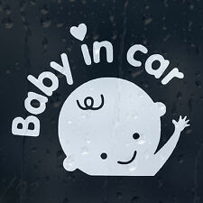 Baby In Car Decal Vinyl Sticker For Window Bumper Panel