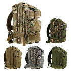Army Molle 3 Day Pack 3P Assault Tactical Military Camping Travel Backpack Bag