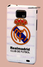 for samsung galaxy S2 sii S II i9100 and i777 case real madrid football soccer