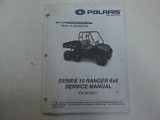 2003 Polaris Series 10 Ranger 6x6 Service Repair Shop Manual STAINED FACTORY OEM