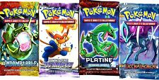① 4 BOOSTERS de CARTES POKEMON Neuf Aucun double en FRANCAIS (Lot N° AAK)