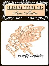 FAIRY WITH BUTTERFLY WINGS DIE Craft Die Cutting Die Ellentina DCN188 Die New