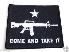 COME AND TAKE IT...Pro Gun Anti Obama Biker Patch P4089 E