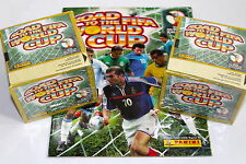 Panini road to fifa world cup 2002 - 2 x Display Box 100 pochettes packets + album