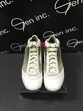 Authentic Nike PE LEBRON 7 VII More Than A Game NYC White Gold Green Size 8