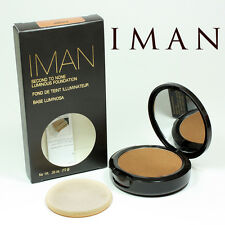 IMAN FOND DE TEINT ILLUMINATEUR SECOND TO NONE EARTH 6 , 10g MARQUE USA ZZZZ