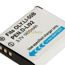 Battery For Olympus LI-50B Stylus Tough 6000 8000 9000