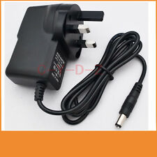 9V 300mA 0.3A Switching Power Supply adapter AC 100V-240V  DC 5.5mm x 2.1mm UK