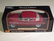 MAISTO MINT IN BOX Special Edition 1956 CHRYSLER 300B Red Car