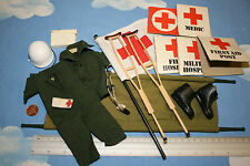ORIGINAL VINTAGE ACTION MAN MEDIC OUTFIT AND EQUIPMENT CB15954