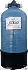 12,800gr Mobile-Soft-Water-Portable Manual Softener w/salt port RV-Boat&Cabin