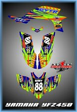 Yamaha YFZ 450 04-09  SEMI CUSTOM GRAPHICS KIT birky2