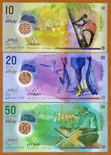 SET Maldives, 10;20;50 Rufiyaa, 2015 (2016), Polymer UNC   New Design
