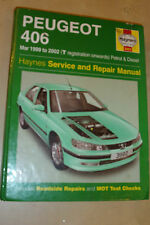 PEUGEOT 406 HAYNES SERVICE REPAIR MANUAL PETROL +TURBO-DIESEL Td 1999-2002 99-02