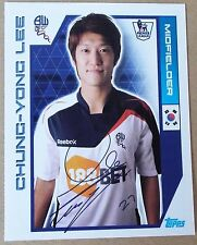 TOPPS - PREMIER LEAGUE 2012 - STICKER COLLECTION- No 82 - CHUNG-YONG LEE
