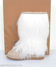 UGG AUSTRALIA EN PEAU DE MOUTON CUFF SABLE TALL BOOTS CHAUSSURES UK 4.5 US 6 UE 37 RRP £350