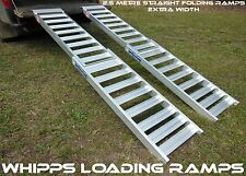 2.5 Metre Folding Quadbike ATV Loading Ramps Extra Wide Aussie Made