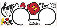 Disney All About MICKEY MOUSE Clubhouse decor wall sticker MURAL decal stickups