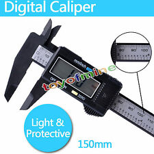 150mm ELECTRONIC DIGITAL CALIPERS VERNIER WITH LCD INC HARD CASE
