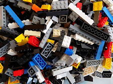 LEGO Lot of 100 Sloped Bricks/Blocks Mixed Sizes Basic Building Pieces Random
