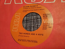 Wilson Pickett 45 Two Women and a Wife/Take a Closer Look at the 70s Soul Funk