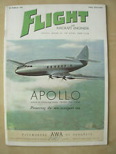 FLIGHT AND AIRCRAFT ENGINEER MARCH 30th 1950 ARMSTRONG WHITWORTH APOLLO