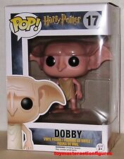 "FUNKO POP 2016 HARRY POTTER DOBBY #17 Vinly 3 3/4"" Figure MIMB IN STOCK"