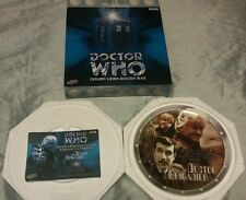 Doctor Who Collector Plate Cards Inc 3rd Doctor and Brigadier Limited Edition