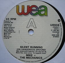 "MIKE & THE MECHANICS - Silent Running - Excellent Condition 7"" Single U 8908"