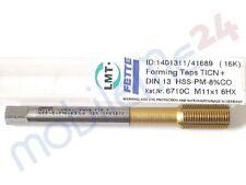 LMT - Fette Gewindeformer M11x1 MF 11 x 1 Feingewinde HSSE-PM TIN 6HX mit SN neu