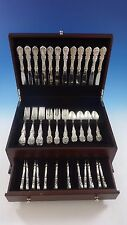 BURGUNDY BY REED & BARTON STERLING SILVER FLATWARE SET 12 SERVICE 60 PIECES