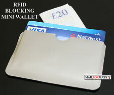 10 Card RFID Blocking Contactless Debit Credit Card Protector Sleeve Wallets H