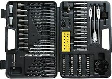 110 Piece Drill Bit, Screwdriver and Nut Driver Set